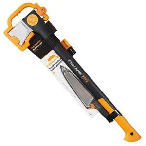 Набор: топор-колун Fiskars X21 L и нож поварской (170054)