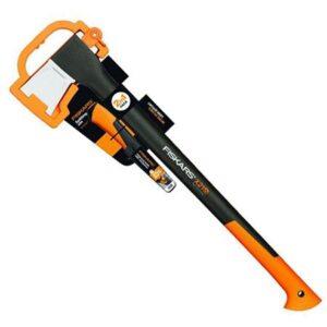Набор: топор-колун Fiskars X21 L и нож универсальный Fiskars (1025436)