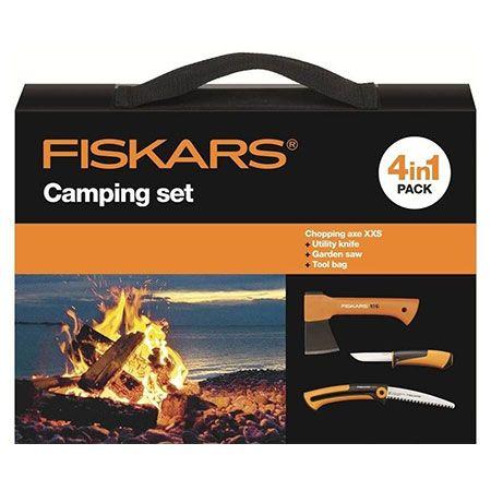 Набор туристический 4 в 1 Fiskars Camping Set (1025439)