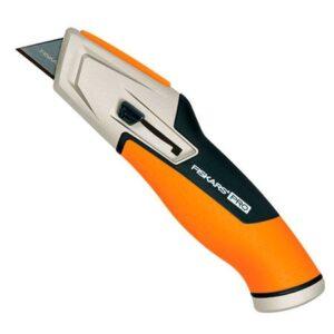 Нож с выдвижным лезвием Fiskars CarbonMax Retractable Utility Knife (1027223)