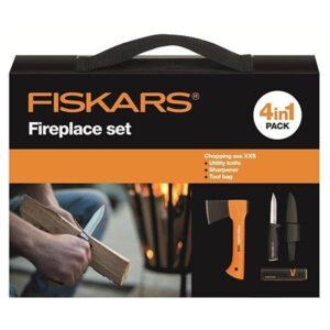 Набор подарочный 4 в 1 Fiskars Fireplace Set (1025441)
