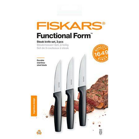 Набор зубчатых ножей для стейков Fiskars Functional Form Steak Knife Set (1057564)