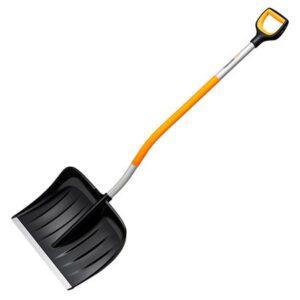 Лопата для уборки снега с изогнутым черенком Fiskars X-Series (1057186)