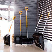 Лопаты для снега Fiskars